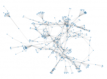 Largest connected component of the 2019 peridynamics co-authorship network